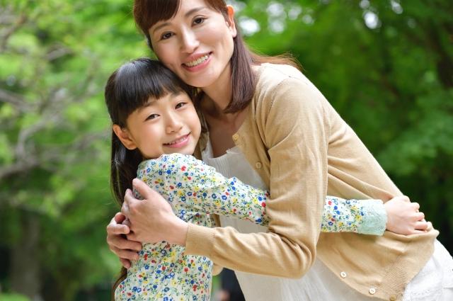 主婦と子供