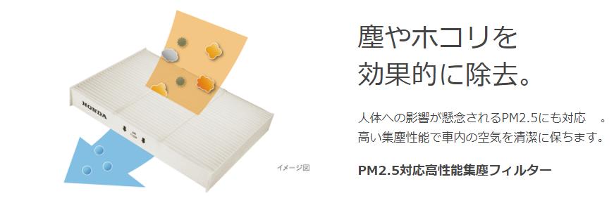 N-BOXPM2.5フィルター